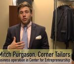 screenshot of vimeo video on the Center for Entrepreneurship