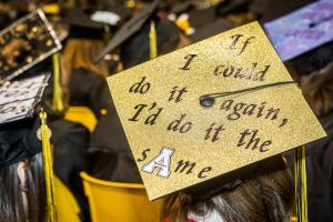 Approximately 3,400 students will receive degrees during spring commencement May 12-13. Photo by Marie Freeman