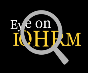 Spring 2017 edition of Eye on IOHRM now available