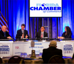 Dr. David Marlett on a panel addressing the Florida Chamber of Commerce