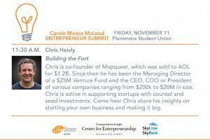 MapQuest founder to deliver keynote address at entrepreneur summit on Nov. 11