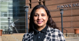 Dr. Lubna Nafees, assistant professor in Appalachian State University's Department of Marketing and Supply Chain Management. Her research interests include social media and sustainable and conscious consumption.