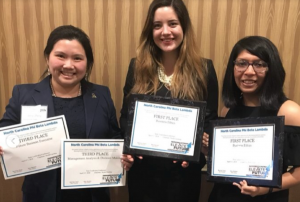 draft - Appalachian's Phi Beta Lambda students earn awards at state convention