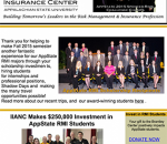 screen shot of online Brantley Risk and Insurance Center's December newsletter