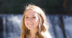 Megan Winter, a Master of Science in Accounting student at App State, has earned a $10,000 scholarship