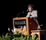 Bonnie Schaefer giving lecture