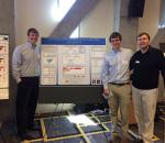 Aaron Nelson, Joe Fagan, and Joe Cazier present findings of New River Light and Power analytics project at the 2015 Appalachian Energy Summit