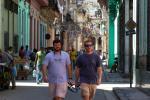 Appalachian students on Havana street